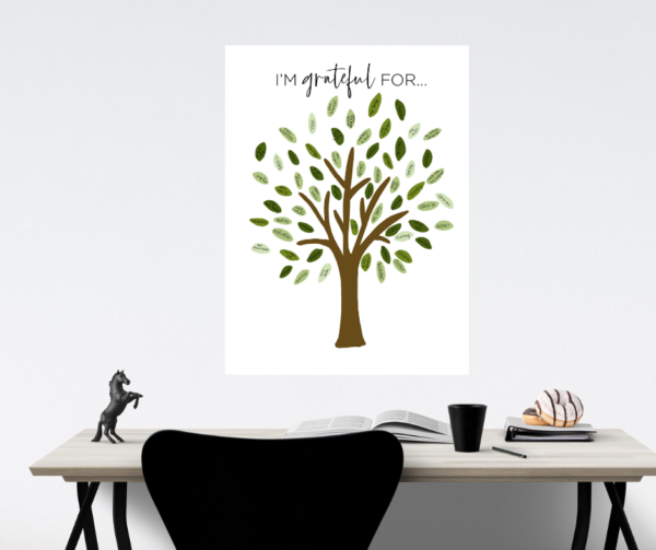 Habit Tracker Gratitude Tree
